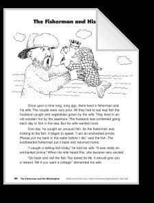 Fisherman and His Wife/El pescador y su mujer