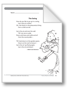 The Swing A Poem